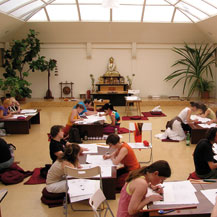 budapest-buddhist-university-thangka-art-course