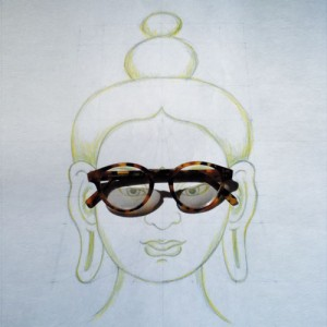 buddha-face-glasses-drawing
