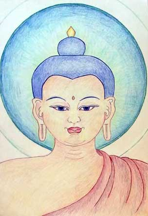 buddha-face-student-of-carmen-mensink