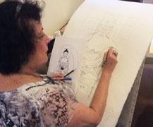 draw-a-tibetan-budha