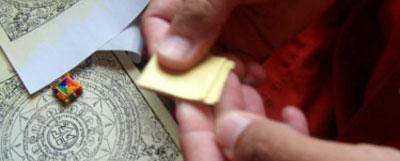 folding-tibetan-buddhist-amulet