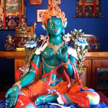 green-tara-statue-lifesize-painted-by-carmen-mensink