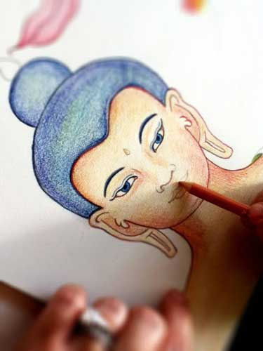Buddha Coloring
