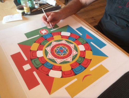 how-to-paint-mandala