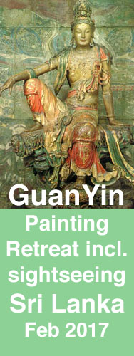 painting quanyin in sri lanka