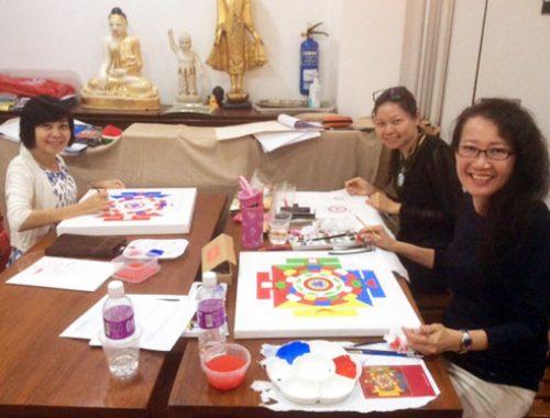 mandala-painting-class