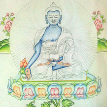 medicine-buddha-thangka-drawing
