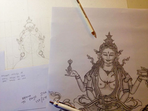 prajnaparamita-sketchcarmen-mensink-class
