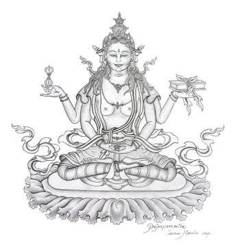 prajnaparamita-thangka-by-carmen-mensink