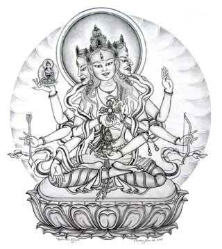 ushnisha-vijaya-by-carmen-mensink