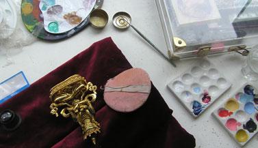 vajradhara-buddha-statue-painting-carmen-mensink