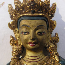 vajradhara-statue-damaged-by-fire