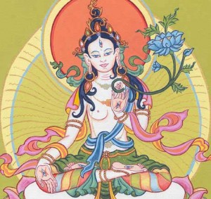 white-tara-thangka-by-carmen-mensink