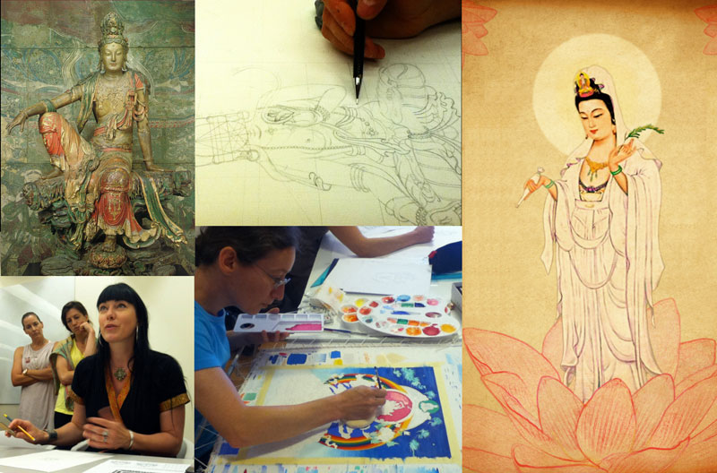 guan-yin-drawing-and-painting
