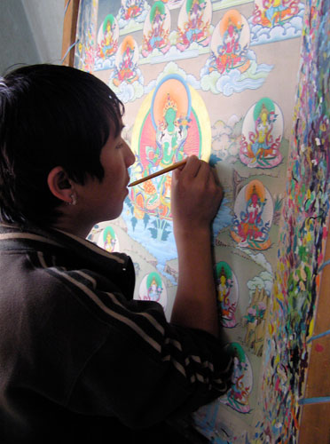 21-taras-thangka-painting