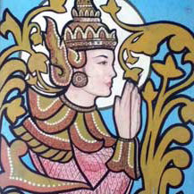 birmese-temple-door-painting
