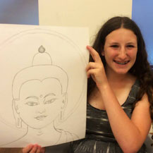buddha-drawing-teenagers