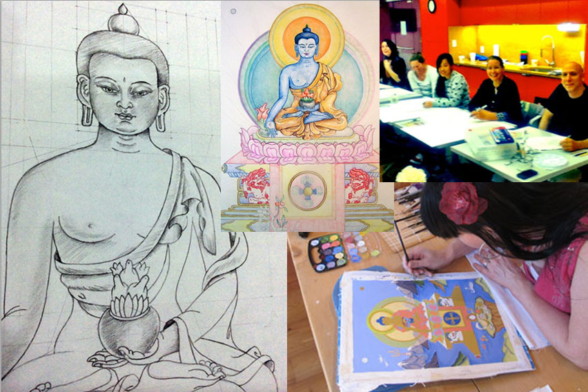 buddha-drawings-and-paintings