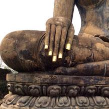 buddha-hand-sukhothai-thailand