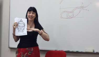 carmen-teaching-buddha-drawing