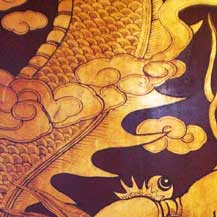 chinese-dragon-decoration-on-wood