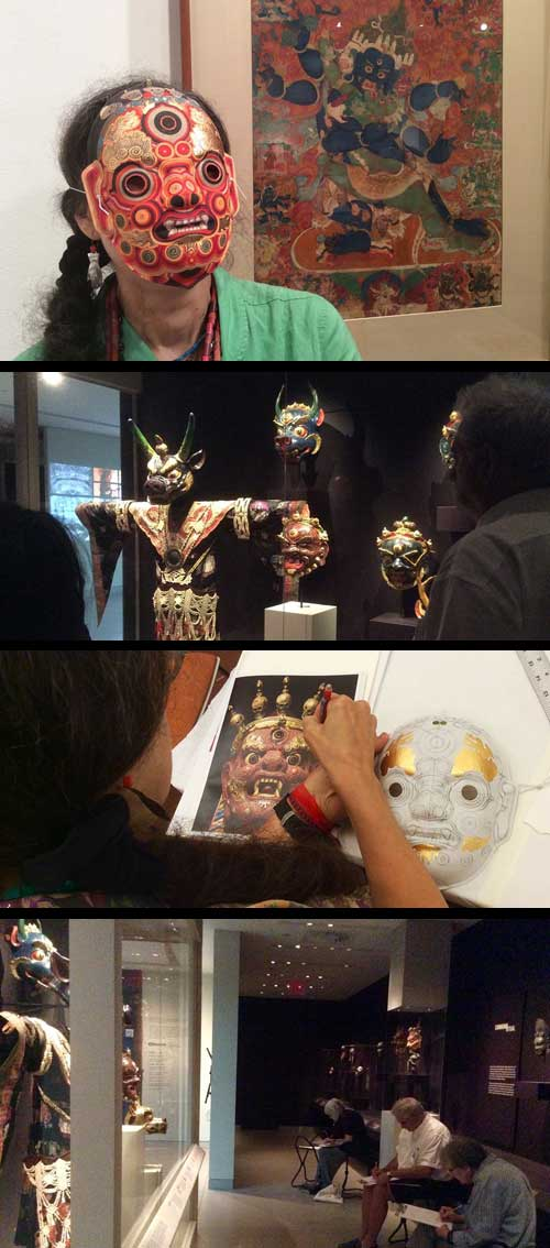 creating-tibetan-mask