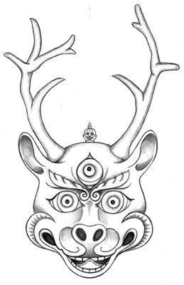 deer-mask-carmen-mensink