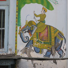 elephant-mural-painting-india