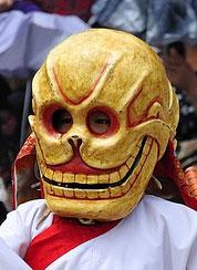 ging-skull-mask-cham-dance