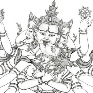 guhyasamaja-drawing-carmen-mensink