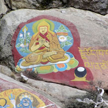 rock-paintings-tibet