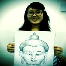 school-class-teen-buddha-drawing