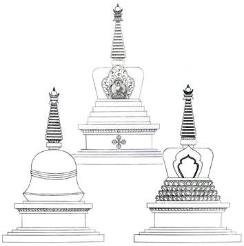 stupas-by-carmen-mensink