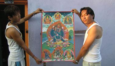 tanka-painting-india