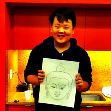 teen-workshop-drawing-buddha-face