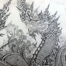 thai-drawing-design-dragon