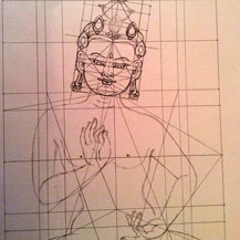 vajrasattva-purification-practice-thangka-drawing