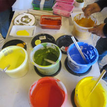 color-mixing-dalai-lama-painting