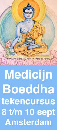 medicijnboeddha van genezing tekencursus