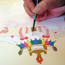 painting-buddhist-symbol-parasol