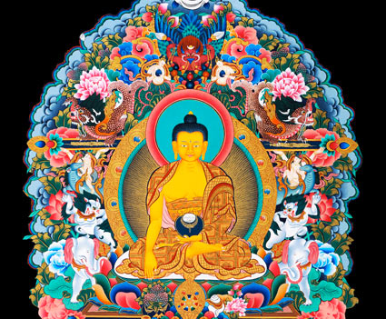 Shakyamuni-six-perfections