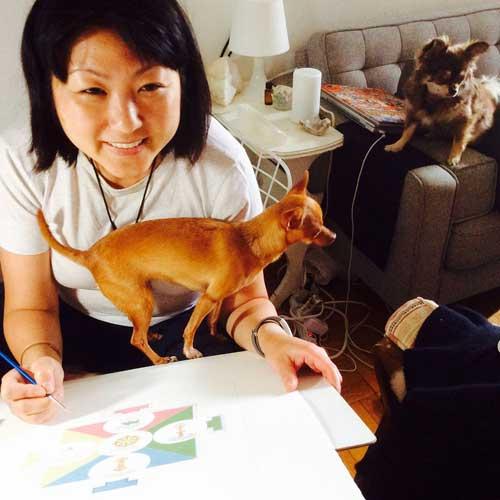 anjie-cho-painting-mandala-with-carmen-mensink