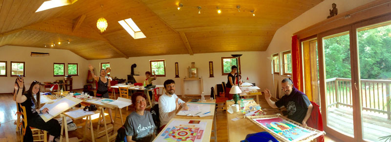 thangka-painting-class-italy