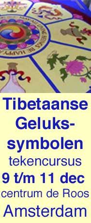 De acht tibetaanse symbolen van geluk