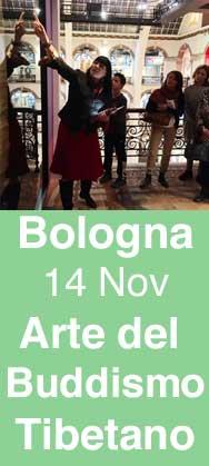 Lettura del Arte del Buddhismo Tibetano a Bologna