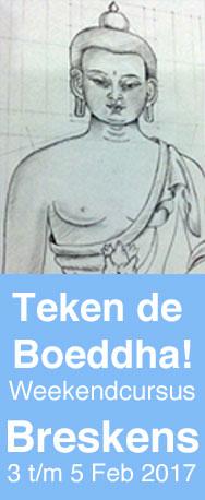 hoe een boeddha tekenen