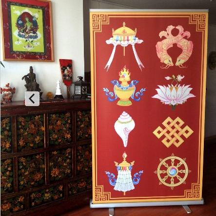 Appliqué Thangkas Buddhist Art Thangka Painting Courses